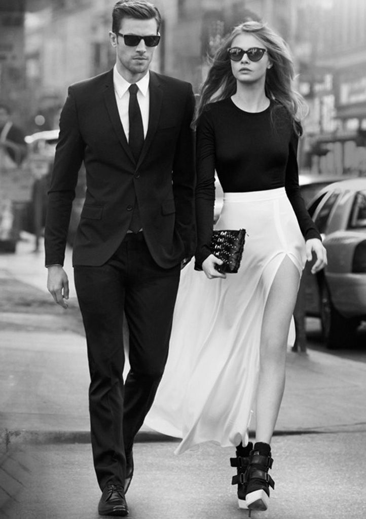 If you want her to look amazing... You have try and keep up. http://www.annabelchaffer.com/categories/Gentlemen/