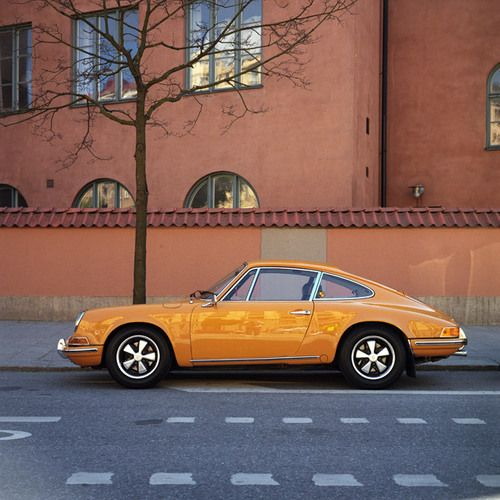 Orange Porsche 911 2.4S #rsomotorsport  www.rso-motorsport.com  www.facebook.com/rsomotorsport @RSO Motorsport
