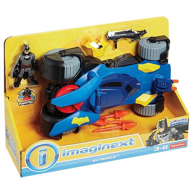 Batman Toys For Boys For Christmas : Imaginext dc super friends transforming batmobile nick s