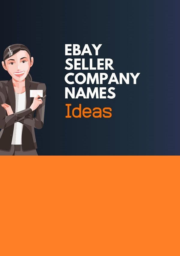 474 Best Ebay Seller Business Names Thebrandboy Com Business Names Ebay Seller Ebay
