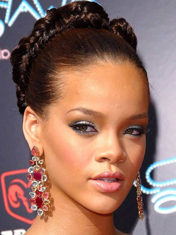 hair styles braids hairstyles for hair black rihanna braided 1949