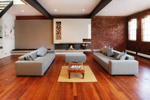 Luxury-living-room-design-with-wooden-floor: Modern Living Rooms, Living Rooms Decoration, Floors, Rooms Decoration Idea, Living Rooms Design, Livingroom, Fireplaces, Interiors Design, Living Rooms Furniture