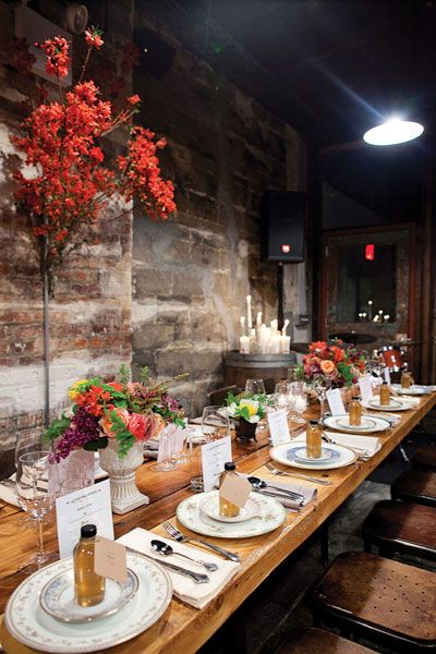 How to Plan a $5,000 Wedding (Yes, It's Possible!)  Party Option 3: dinner party wedding (details in link)