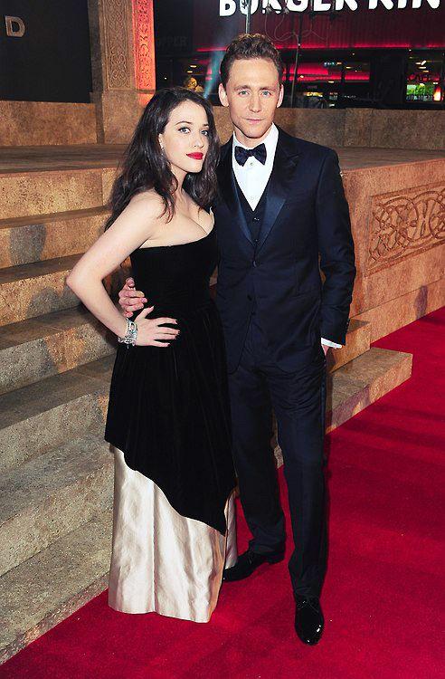 Kat Dennings and Tom Hiddleston @Elizabeth Lockhart Hoyt can you please make this happen somehow?