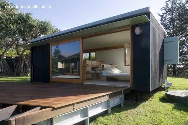 Casa prefabricada: Home, Container Homes, House Design, Tiny House, Happy Haus, Container Houses, Donovan Hill, Architecture, Shipping Container