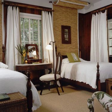 Taylor and Taylor - architects and interior designers - British Colonial Guest Bedroom
