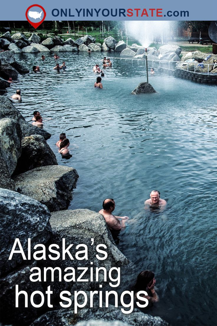 Travel | Alaska | Attractions | USA | Outdoor | Adventure | Day Trips | Hot Springs | Natural Pools | Places To Visit | Vacations | Alaska Beauty | Things To Do | Destinations | Fairbanks | Scenic | Alaska Hot Springs