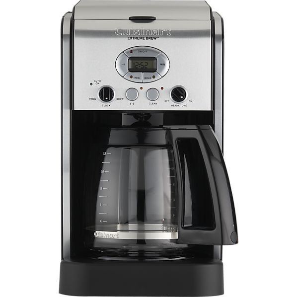 Cuisinart Coffee Maker Extreme Brew Manual : 17 Best ideas about Coffee Maker Reviews on Pinterest Keurig k45, Stainless steel coffee maker ...