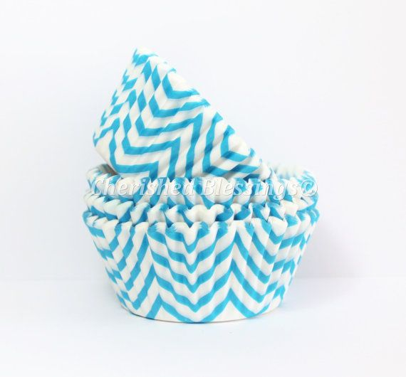 Hey, I found this really awesome Etsy listing at http://www.etsy.com/listing/158974478/cupcake-liners-aqua-chevron-cupcake