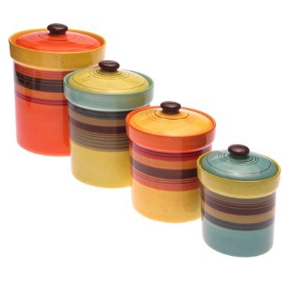Canisters · Colors For KitchensSunset ...