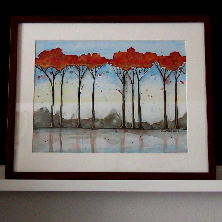 podzimní stromy   Ateliér B. KIOW