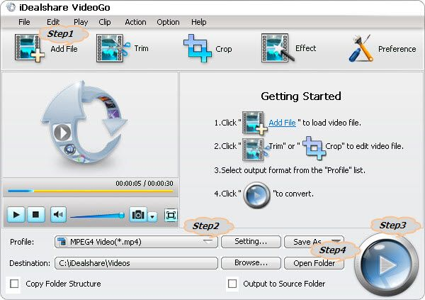 """How to insert mp4 video into PowerPoint with the helper """"MP4 to PowerPoint Converter"""" freeware."""