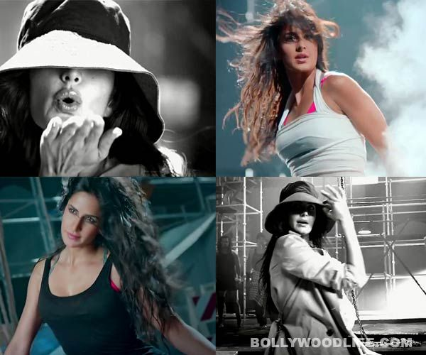 Dhoom:3 song Kamli making: Katrina Kaif  Watch her do acrobatic stunts and some unbelievable histrionics while flying in the air with the help of just a rope.  While Kat's incredible charm and her swift moves look desirable to look at, you can only get a fair idea of how much hard work has gone into making it look so stunning for the silver screen. Take a look!   http://www.dailymotion.com/video/x199e25_kamli-full-video-song-hd_creation