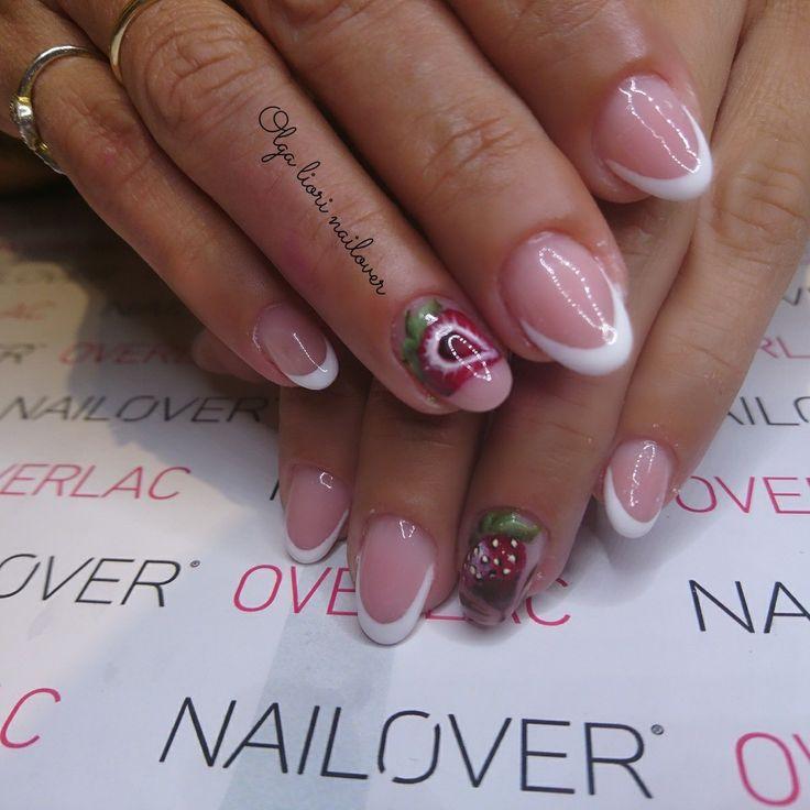 Nails summer fruit