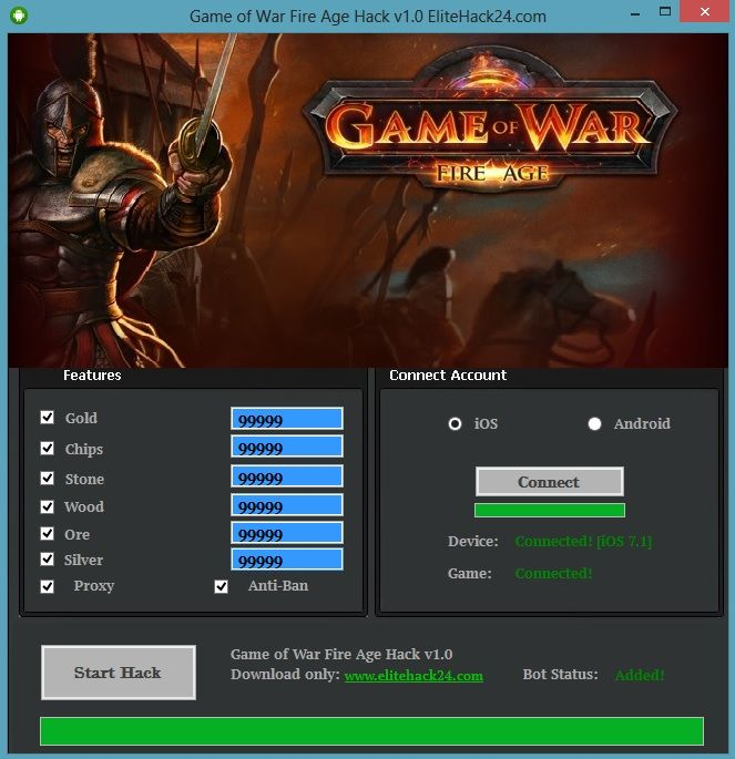 LETS GO TO GAME OF WAR GENERATOR SITE!  [NEW] GAME OF WAR  FIRE AGE HACK ONLINE 100% WORKS: www.online.generatorgame.com Add up to 99999 amount of Gold each day for Free: www.online.generatorgame.com No more lies! This method 100% real working: www.online.generatorgame.com Please Share this working method guys: www.online.generatorgame.com  HOW TO USE: 1. Go to >>> www.online.generatorgame.com and choose Game of War  Fire Age image (you will be redirect to Game of War  Fire Age Generator…