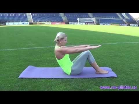 Pilates klasika pro začátečníky // www.na-pilates.cz // - YouTube