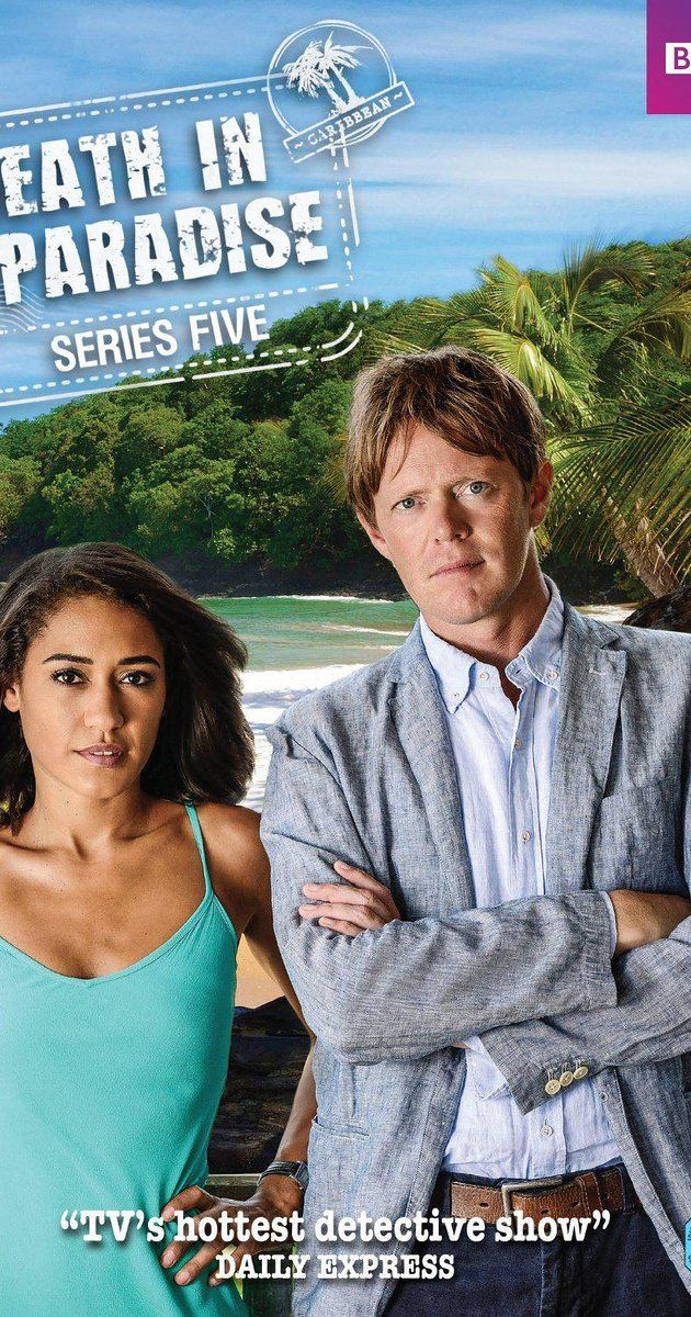 Created by Robert Thorogood.  With Danny John-Jules, Elizabeth Bourgine, Sara Martins, Kris Marshall. A British inspector is transferred to Saint-Marie's police department, but he hates the sun, sea, and sand. The series follow his investigations into murders on the island. Later series see another British DI head the investigative team.