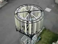 Savonius Wind Turbine Bicycle Wheel | NEXT VIDEO >