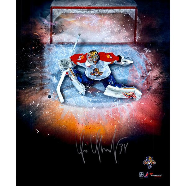 """Tim Thomas Florida Panthers Fanatics Authentic Autographed 20"""" x 24"""" In Focus Photograph - $79.99"""