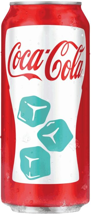 Coca Cola designs new cold-activated can
