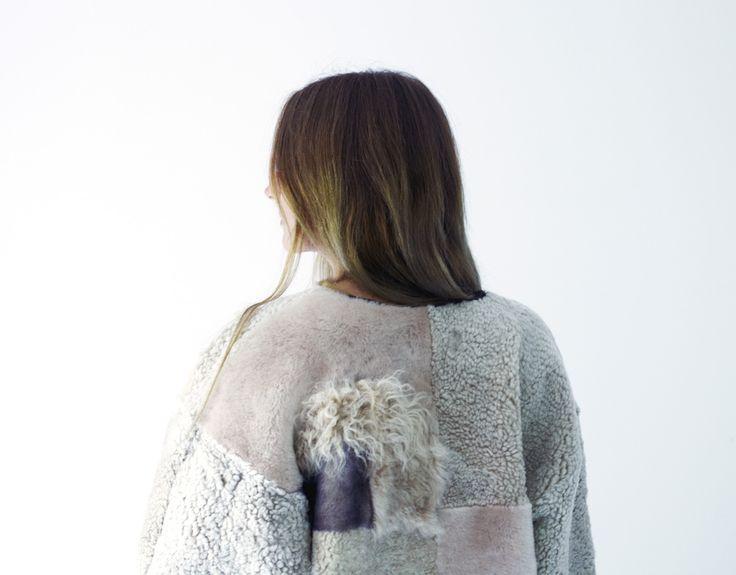 milena silvano — made to order Lilakoi Sheepskin Kimono