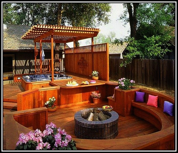 17 Best ideas about Small Backyard Decks on Pinterest  Back patio, Small outdoor patios and