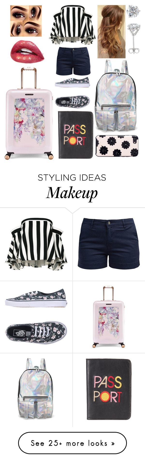"""""""Untitled #724"""" by ladytaurus-queengrizzly on Polyvore featuring Milly, Barbour, Vans, Kate Spade, Lizzie Fortunato and Ted Baker"""