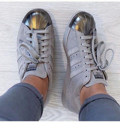 Adidas Superstars Grey