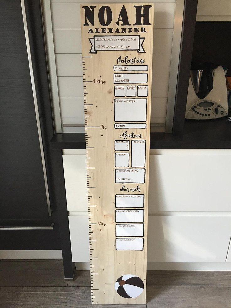 DIY Messlatte für meinen Neffen von Nadine - https://community.tchibo.de/?view=social&type=reply&id=7108
