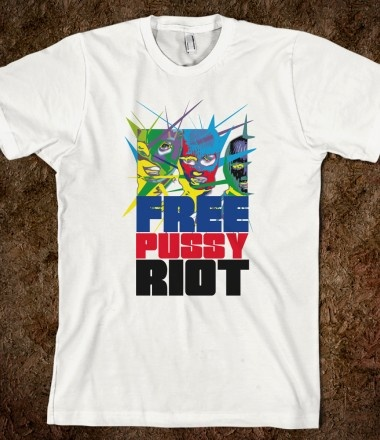 FREE PUSSY RIOT 2