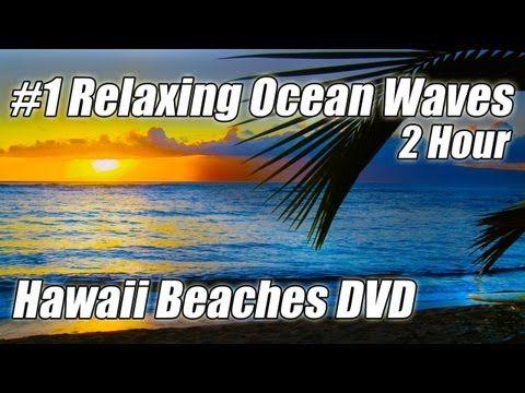 #1 HAWAII BEACH Video Relaxing Wave Sounds Best Ocean Videos HD HAWAII BEACHES Relaxation Sound