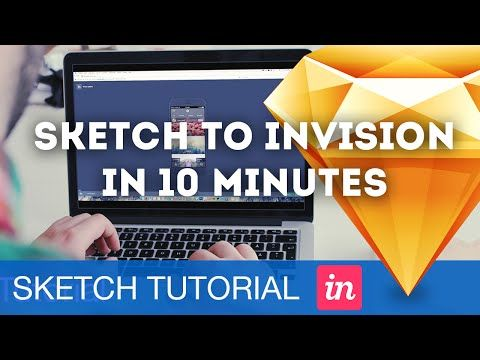 Sketch to InVision Prototype in 10 Minutes • Sketchapp Tutorial & Design Process Workflow - YouTube