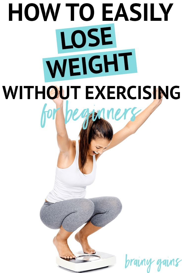 How to lose weight without diet Its possible