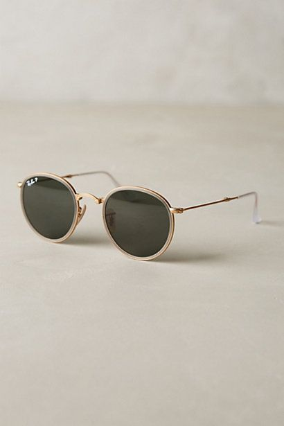 Ray-Ban Round Folding Classic Sunglasses - anthropologie.com #anthrofave
