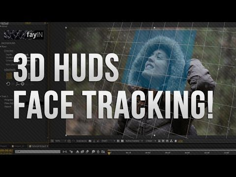 AE │fayIN Tracking Tutorials - 02 - Advanced 3D HUD Tracking! - YouTube