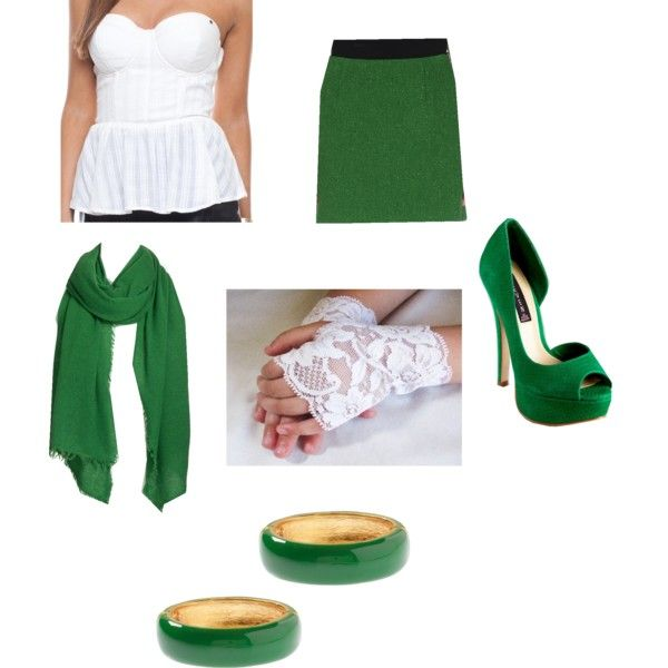 Green Outfit Shows 47