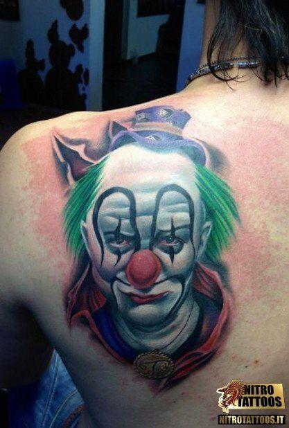 tatuaggio pagliaccio