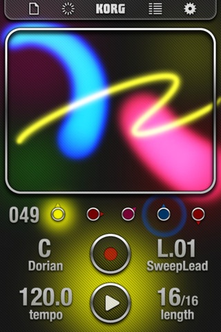 IKAOSSILATOR.  Korg's Kaossilator products are very popular in Music Tech classrooms due to their touch-sensitive performance pads, so it makes total sense that they should create a version for the touch-sensitive iPad.  WIST compatible and Audiobus compatible.  #ipadmusicapps ~ $9.99