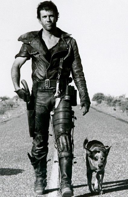 There's no limit to the amount of leather you can pull off. | 24 Reasons Why Living In A Post-Apocalyptic World Would Be Awesome