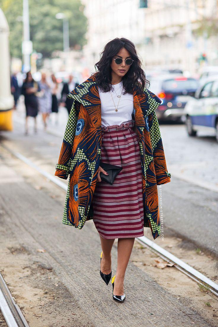 This outfit is LIFE! The colors and patterns!!! ooo la la Chiara Biasi http://carolinesmode.com/stockholmstreetstyle/art/309262/chiara_biasi/