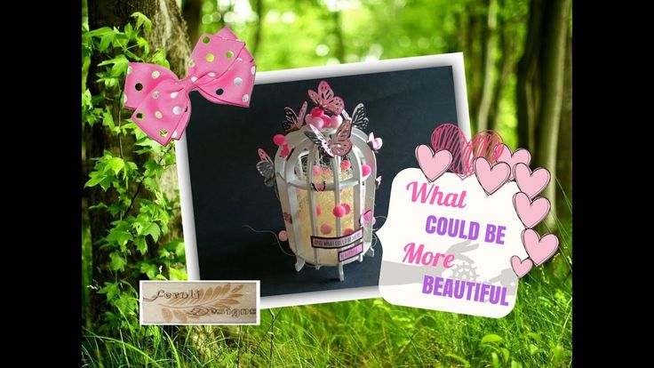 What could be more beautiful... Altered birdcage - Fernli Designs DT Pro...