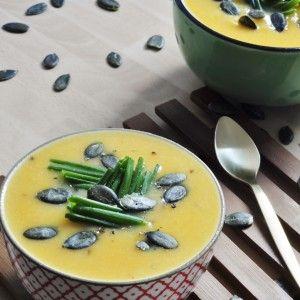 Sweet Potato Cauliflower Soup - Vegan Family Recipes