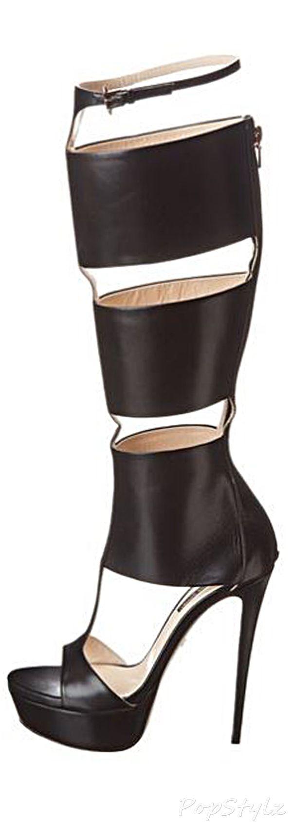 Ruthie Davis Stefani Over-the-Knee Italian Leather Boot