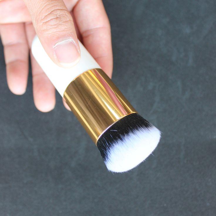 Round Makeup Brush BB Cream Concealer Foundation Powder Brushes Synthetic Fifber Face Cosmetic Blush Brush Make Up Brushes