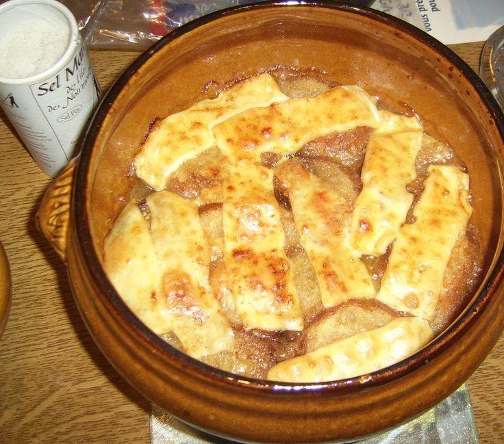 La soupe l 39 oignon maison recette soupes recette recettes de cuisine et soupes - Soupe a oignon maison ...