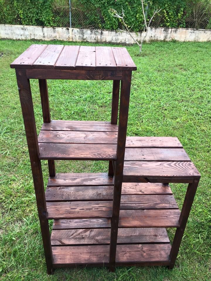 Multi-functional Pallet #Shelves #Rack   Pallet Furniture