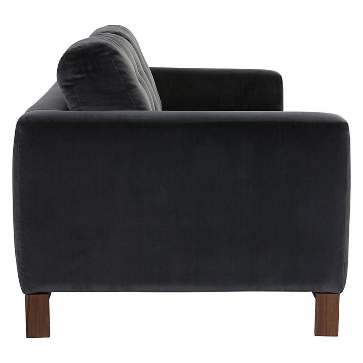 Remarkable Furia Odyssey 3 Seater Velvet Sofa Marco Steel John Lewis Cjindustries Chair Design For Home Cjindustriesco