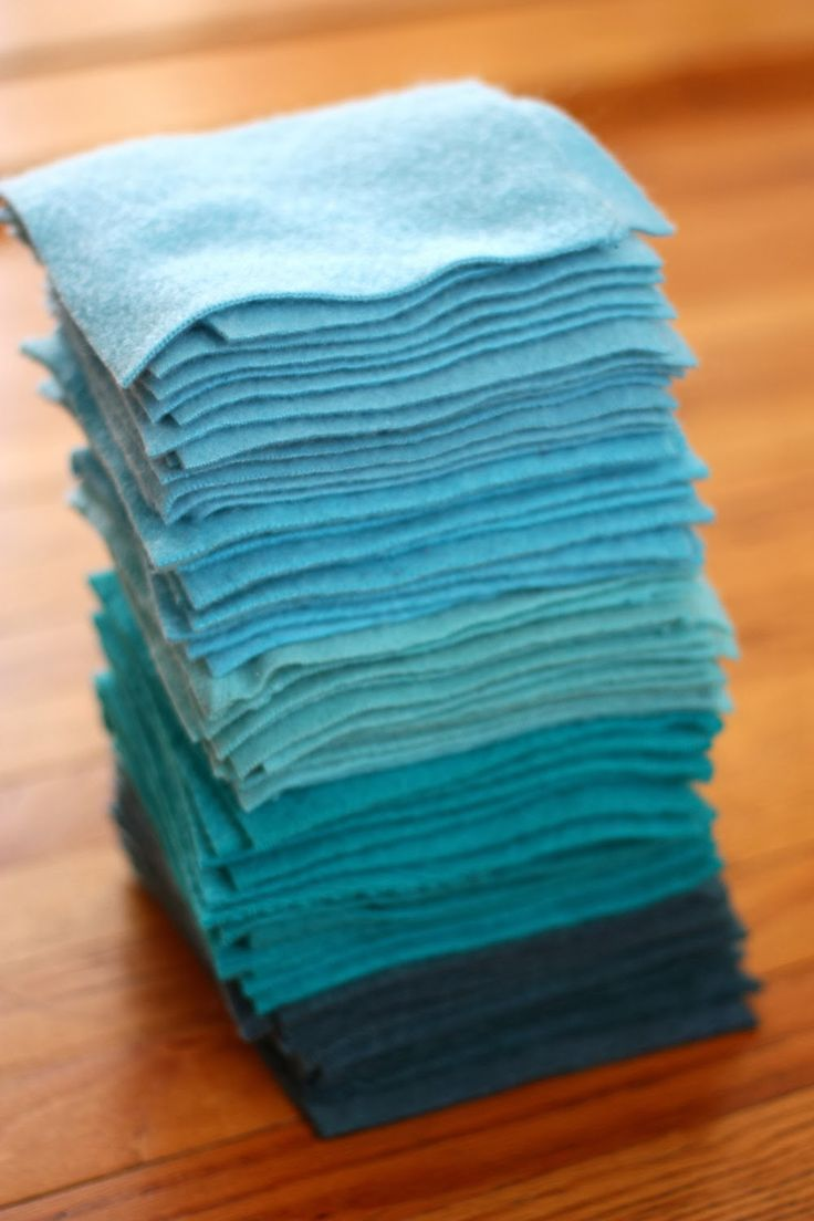 ben and birdy: Felted-Wool Blanket Tutorial