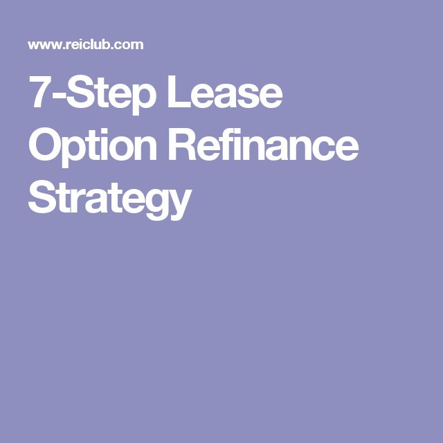 90 best Real Estate Investing Lease Options images on Pinterest - master lease agreement