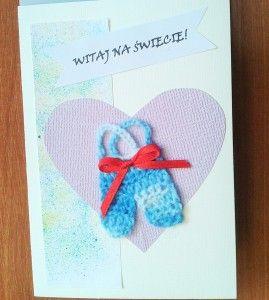 Kartka z okazji narodzin chłopca